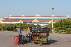 Voyage de Myanmar Photographie stock