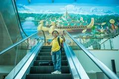 Voyage de Myanmar Image libre de droits