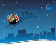 Voyage de Noël illustration de vecteur