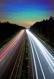 Voyage de nuit Photographie stock libre de droits