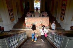 Voyage de personnes chez Ho Chi Minh City Museum Photos stock