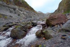 Voyage de Pinatubo Photos libres de droits