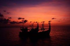 Voyage de soirée Photo libre de droits