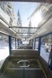 Voyage de tram dans Zakopane, Pologne Images libres de droits