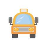 Voyage de transport de vehicule de taxi Images libres de droits