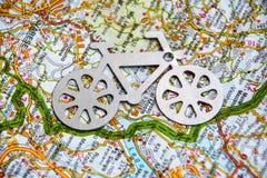 Voyage de vélo Images stock