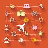 Voyage de vacances Image libre de droits