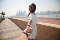 Voyage de vacances d'été de couples Photographie stock