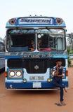 Voyage de vacances du Sri Lanka de voitures d'autobus Photos stock