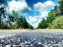 Voyage de voyage par la route de l'Ukraine image libre de droits
