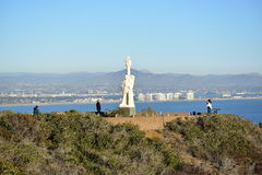 A Voyage of Discovery at Juan Rodríguez Cabrillo National Monument Royalty Free Stock Images