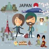 Voyage du Japon Photo libre de droits