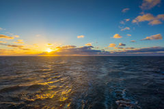 Voyage en le ferry en mer baltique Photo stock