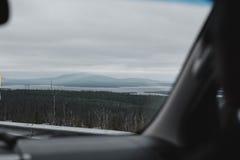 Voyage en montagnes Image stock