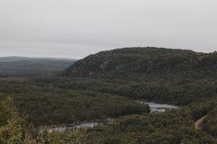 Voyage en montagnes Image libre de droits