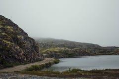 Voyage en montagnes Photos stock
