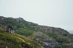Voyage en montagnes Images libres de droits