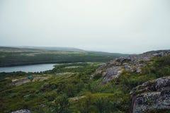 Voyage en montagnes Photographie stock libre de droits
