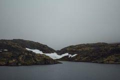 Voyage en montagnes Images stock