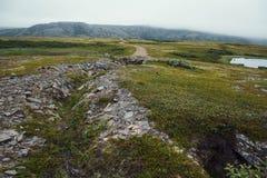 Voyage en montagnes Photo stock