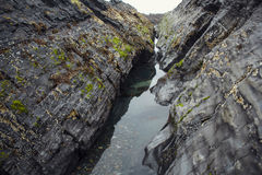 Voyage en montagnes Photo libre de droits