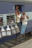 Voyage en train Image stock