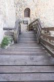 Voyage, forteresse et château de Consuegra à Toledo, Espagne medie Images stock
