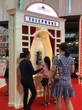 Voyage international thaïlandais 2016 juste Image stock