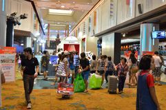 Voyage international thaïlandais 2016 juste Images stock