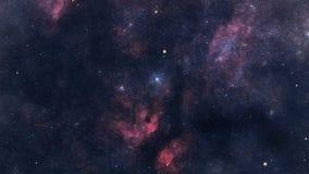 Voyage interstellaire illustration stock