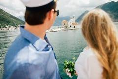 Voyage l'Europe de couples de lune de miel Photo libre de droits
