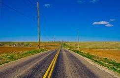 Voyage par la route Images stock