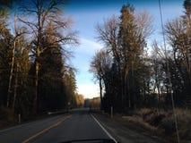 Voyage par la route Photos libres de droits