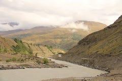 Voyage par la route au ladakh de Leh Image libre de droits