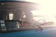 Voyage par la route d'été Photographie stock libre de droits