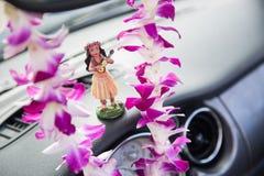 Voyage par la route d'Hawaï images libres de droits