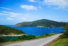 Voyage par la route de Phuket Images libres de droits
