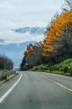 Voyage par la route du Hokkaido Image libre de droits