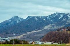 Voyage par la route du Hokkaido Images stock