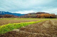 Voyage par la route du Hokkaido Photo stock