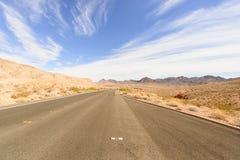 Voyage par la route et secteur de montagne Images stock