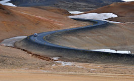 Voyage par la route islandais Photographie stock libre de droits
