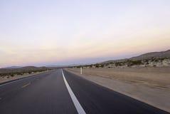 Voyage par la route occidental américain grand images libres de droits