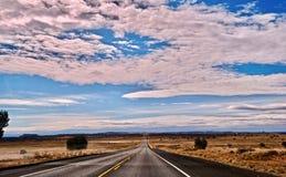 Voyage par la route vers l'Utah Images libres de droits