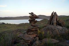 Voyage par les beaux coins de la nature images stock