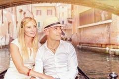 Voyage romantique vers l'Europe Image libre de droits