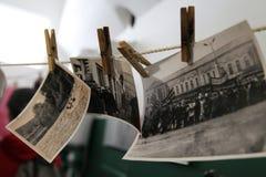 Voyage Russie : vieilles photos noires et blanches Photo libre de droits