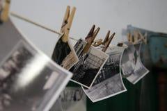 Voyage Russie : vieilles photos noires et blanches Image libre de droits