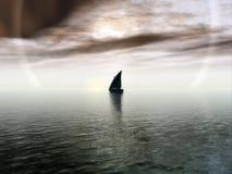 Voyage sans fin Photographie stock