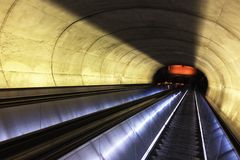 Voyage souterrain Photo stock